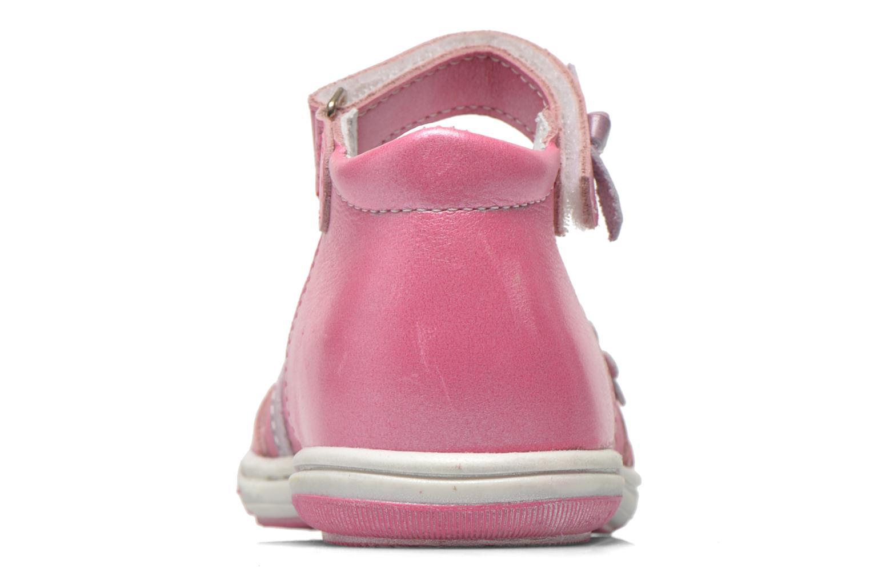 Ballerinas Bopy Belene rosa ansicht von rechts