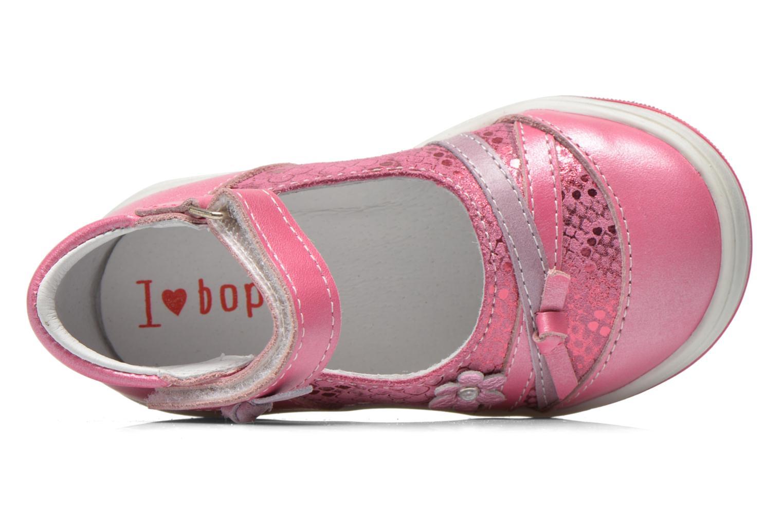 Ballerinas Bopy Belene rosa ansicht von links