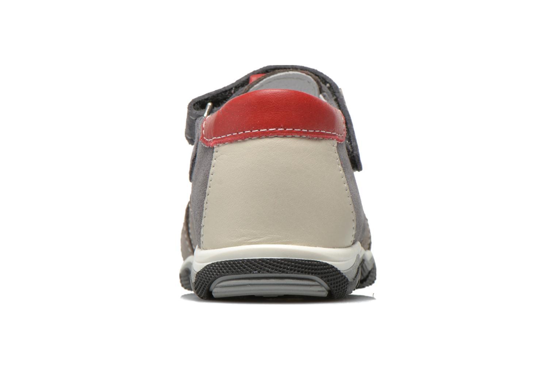 Sandales et nu-pieds Bopy Bugati Gris vue droite