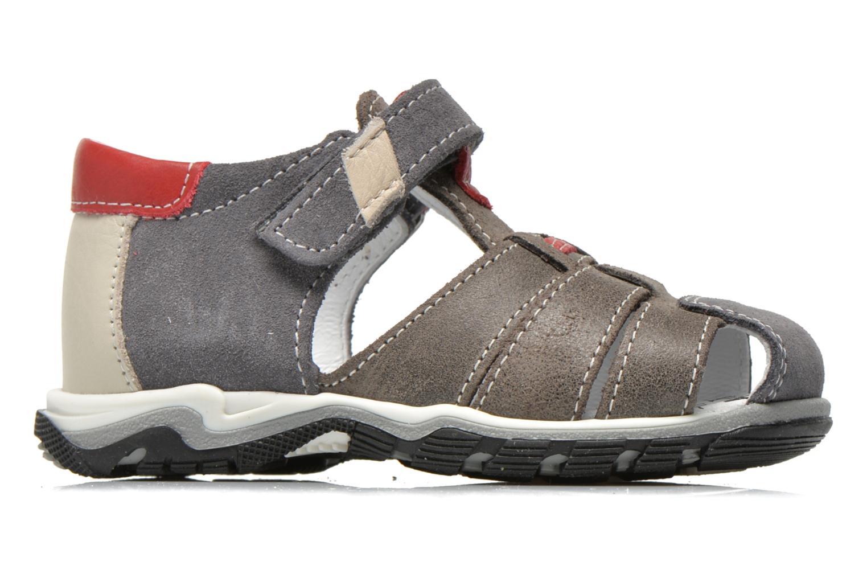Sandales et nu-pieds Bopy Bugati Gris vue derrière