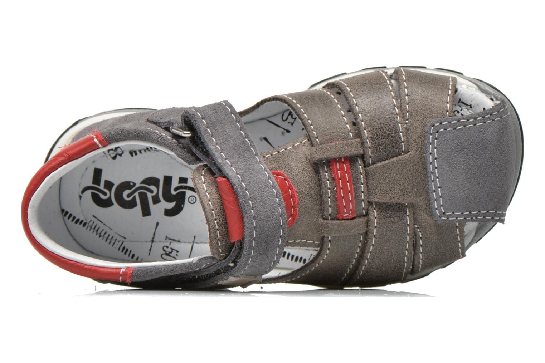 Sandalen Bopy Bugati grau ansicht von links