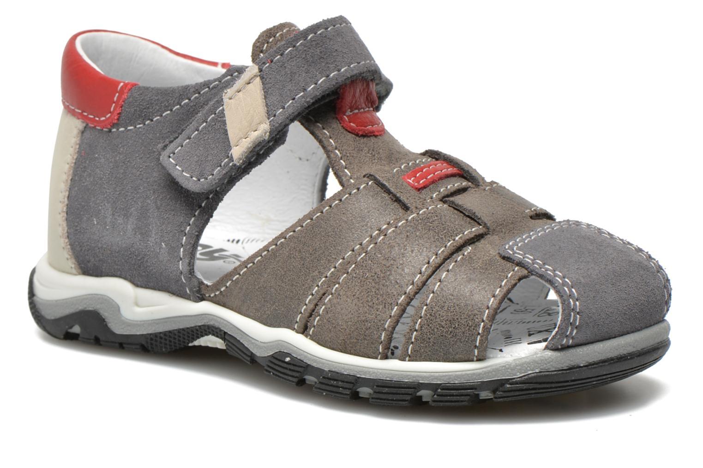 Sandales et nu-pieds Bopy Bugati Gris vue détail/paire