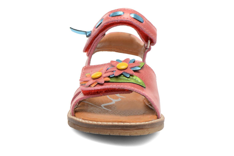 Sandales et nu-pieds Bopy Ecolor Rose vue portées chaussures