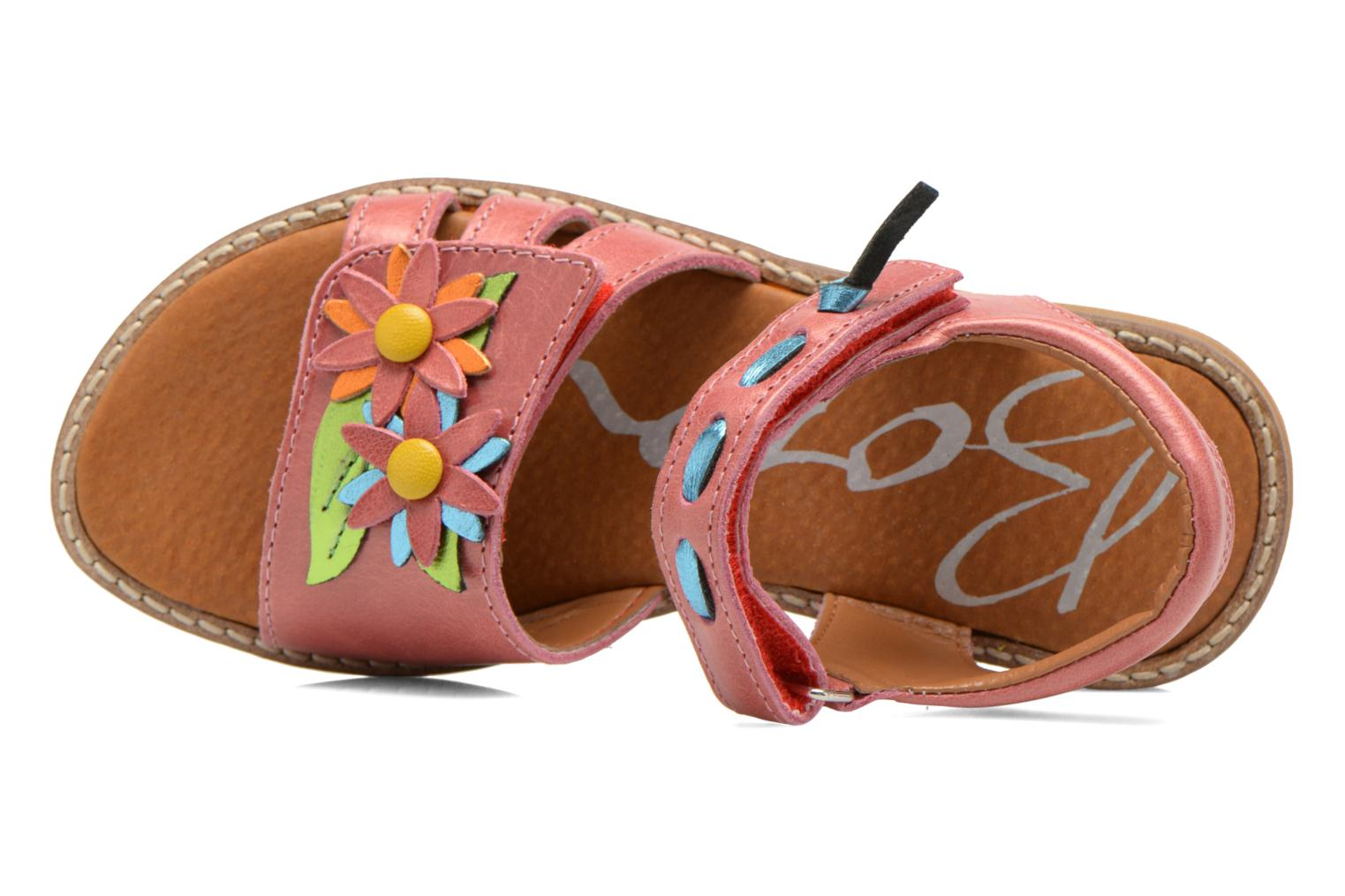 Sandals Bopy Ecolor Pink view from the left