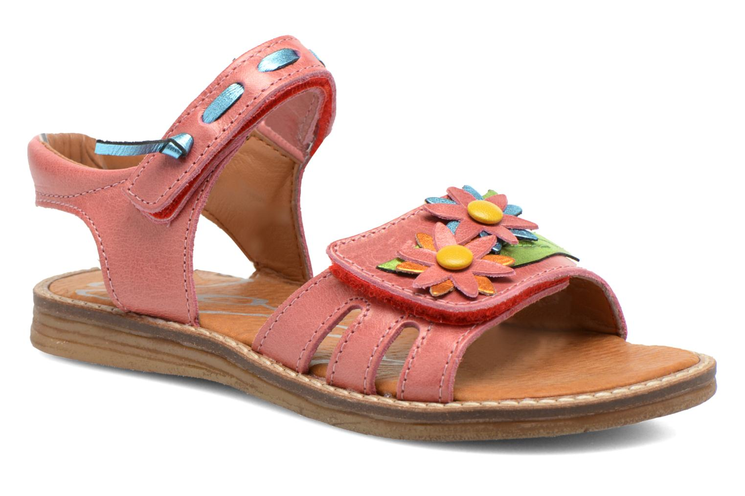Sandals Bopy Ecolor Pink detailed view/ Pair view