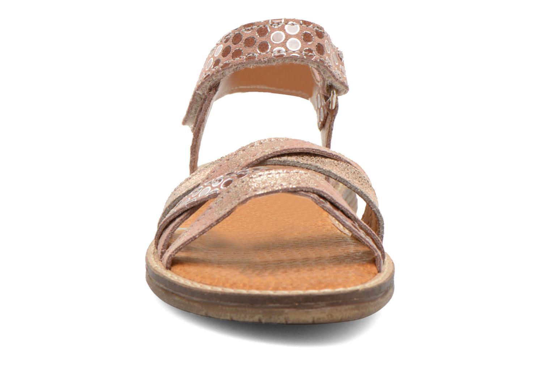 Sandals Bopy Editara Brown model view