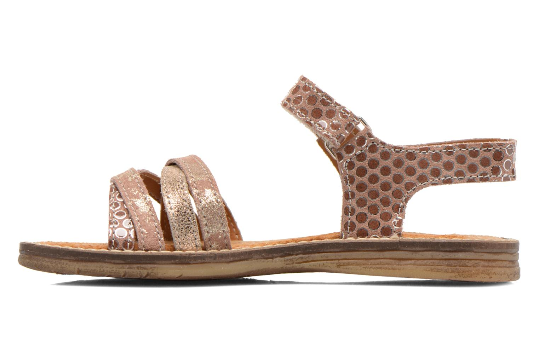 Sandales et nu-pieds Bopy Editara Marron vue face