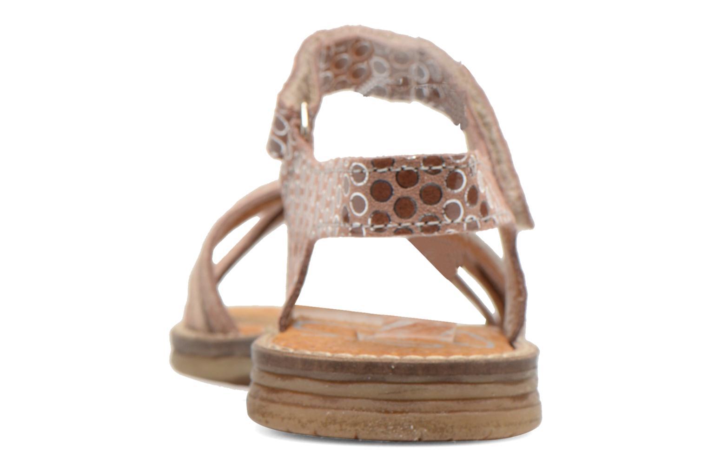 Sandales et nu-pieds Bopy Editara Marron vue droite