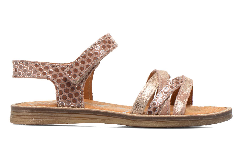 Sandales et nu-pieds Bopy Editara Marron vue derrière
