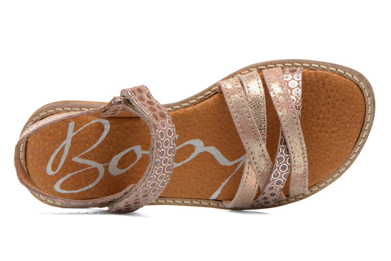 Sandales et nu-pieds Bopy Editara Marron vue gauche