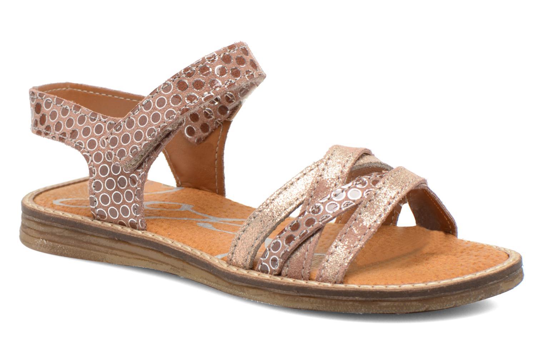 Sandals Bopy Editara Brown detailed view/ Pair view