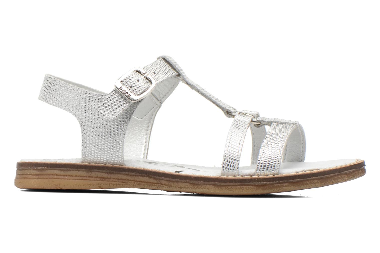 Sandales et nu-pieds Bopy Elea Argent vue derrière