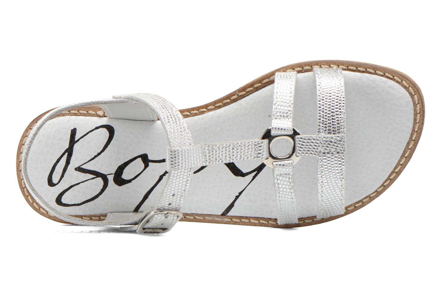 Sandals Bopy Elea Silver view from the left
