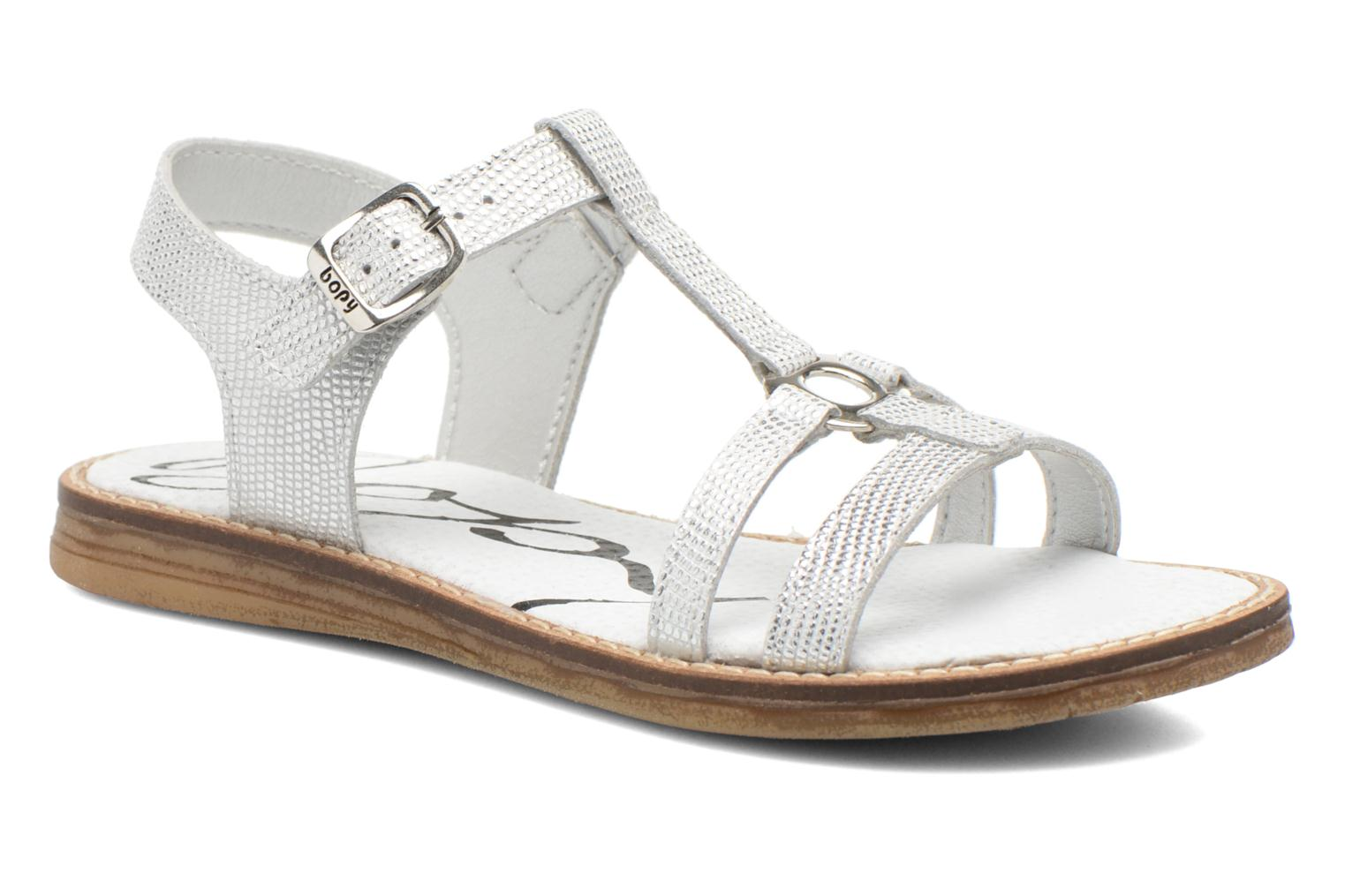 Sandals Bopy Elea Silver detailed view/ Pair view