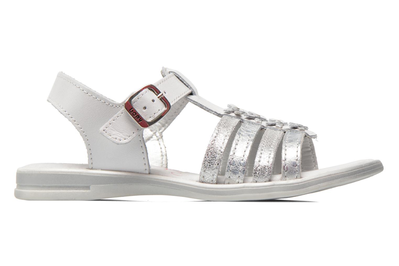 Sandales et nu-pieds Bopy Elodine Blanc vue derrière