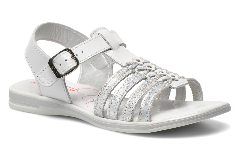 Sandaler Bopy Elodine Hvid detaljeret billede af skoene