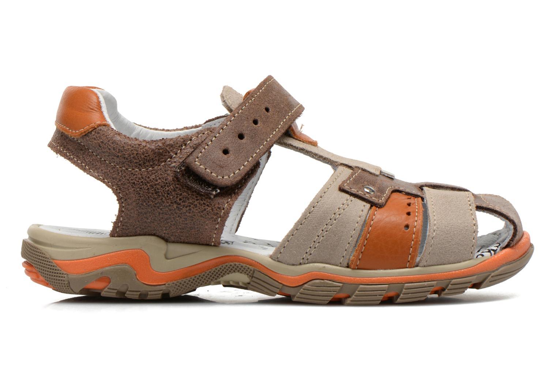 Sandales et nu-pieds Bopy Erdol Marron vue derrière