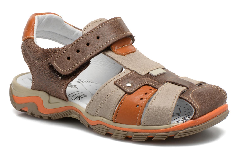Sandales et nu-pieds Bopy Erdol Marron vue détail/paire