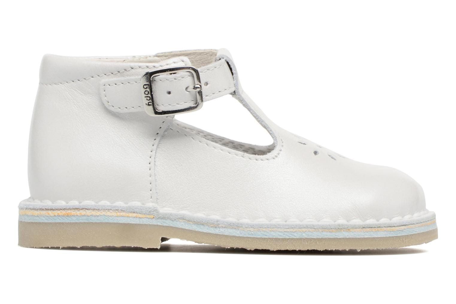 Summer boots Bopy Mapil White back view