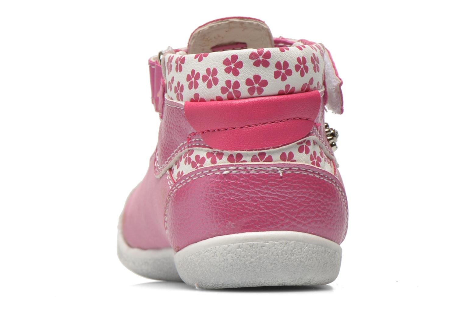 Summer boots Bopy Noriane Pink view from the right