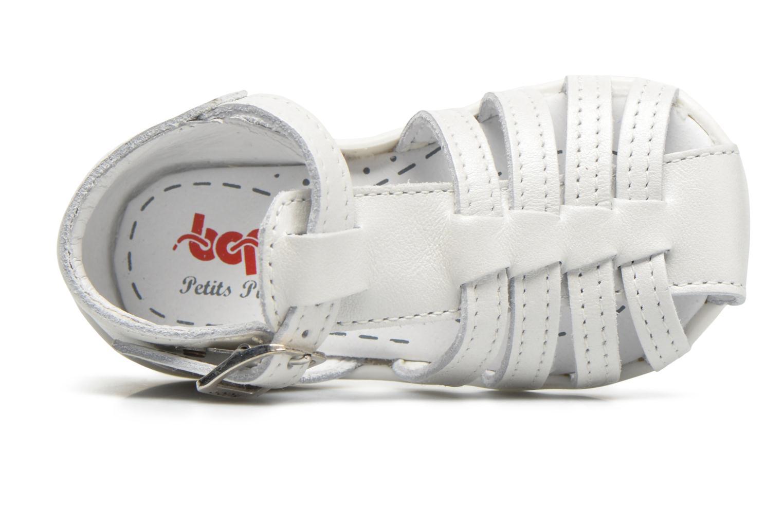 Sandales et nu-pieds Bopy Paula Blanc vue gauche