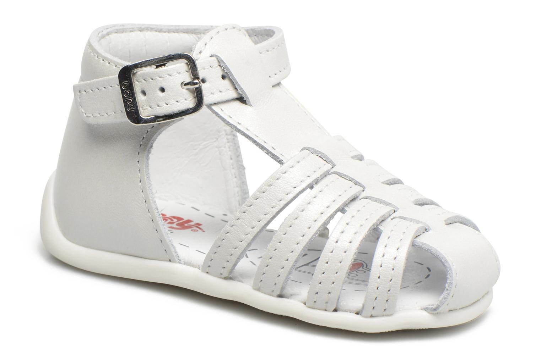 Sandales et nu-pieds Bopy Paula Blanc vue détail/paire