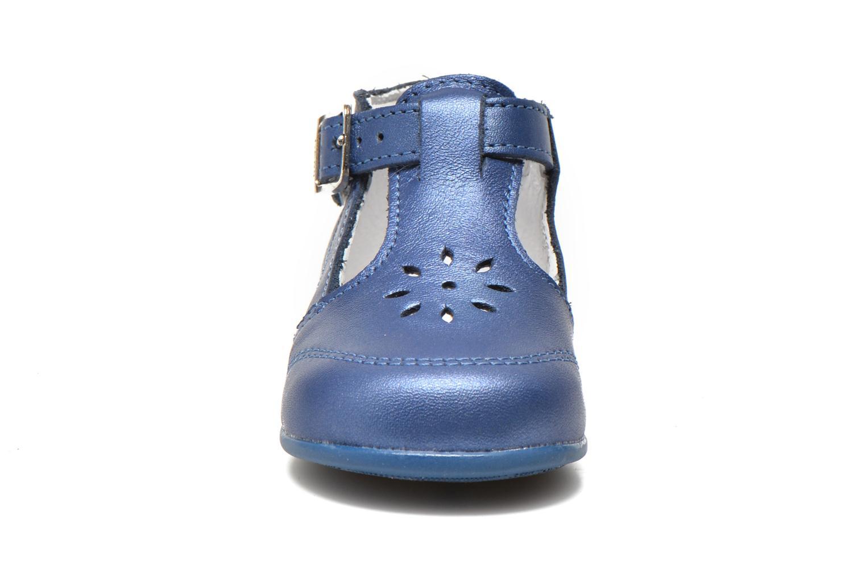 Sommerschuhe Bopy Poumbo blau schuhe getragen