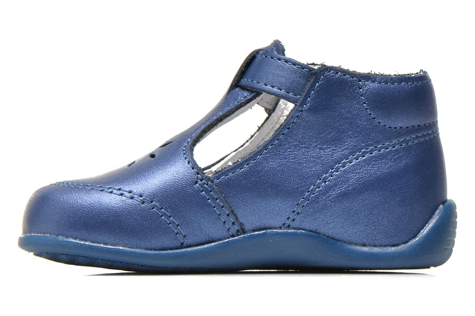 Summer boots Bopy Poumbo Blue front view