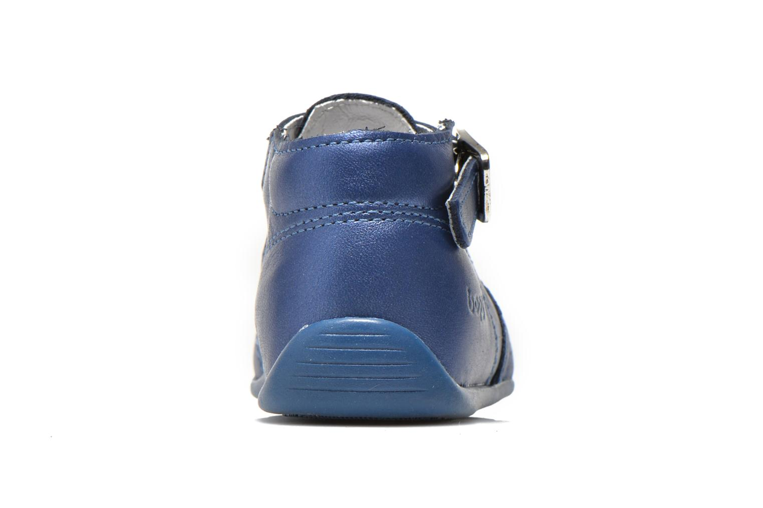 Summer boots Bopy Poumbo Blue view from the right