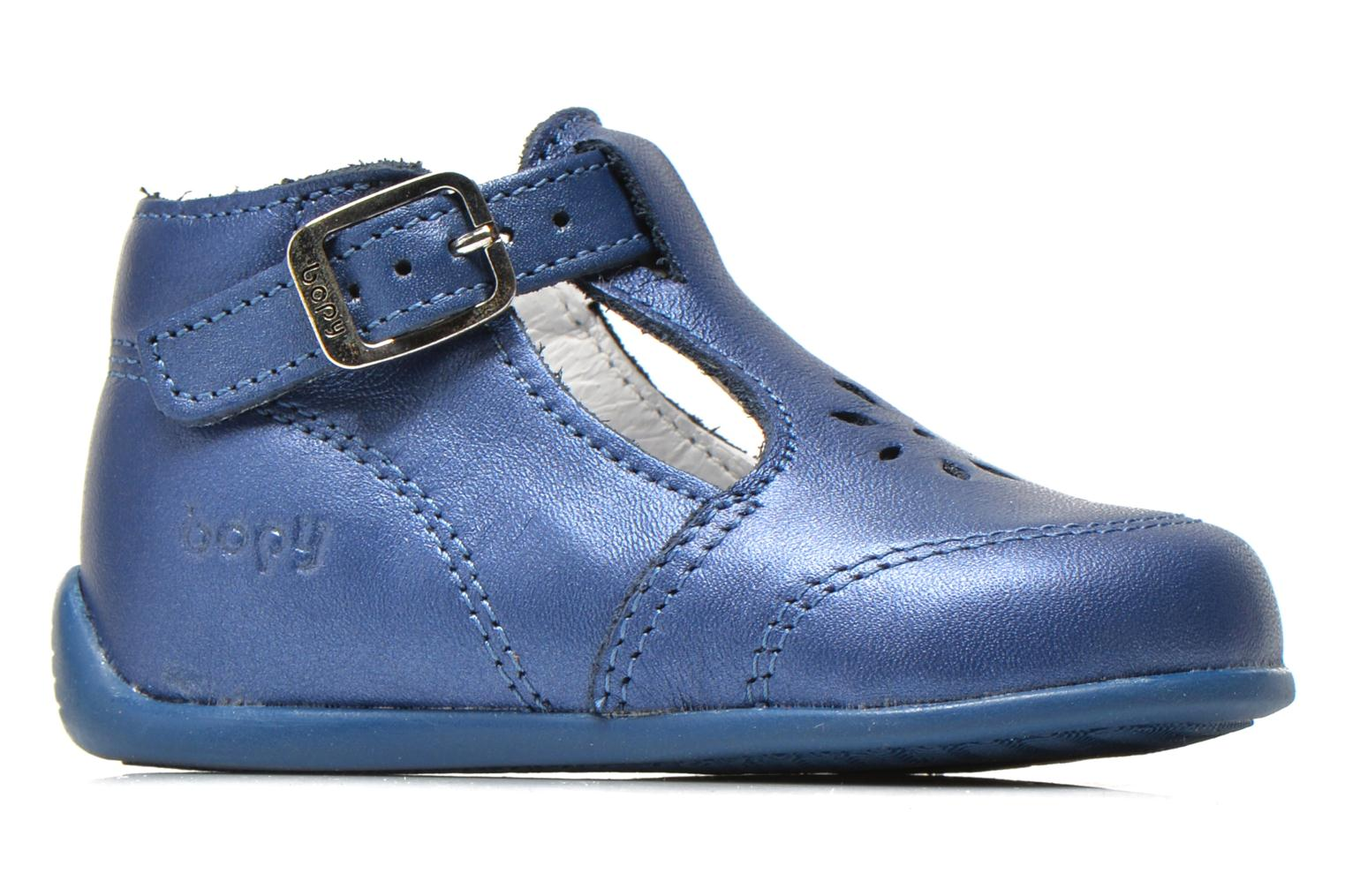 Summer boots Bopy Poumbo Blue back view