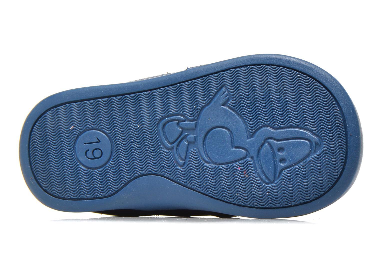 Sommerschuhe Bopy Poumbo blau ansicht von oben