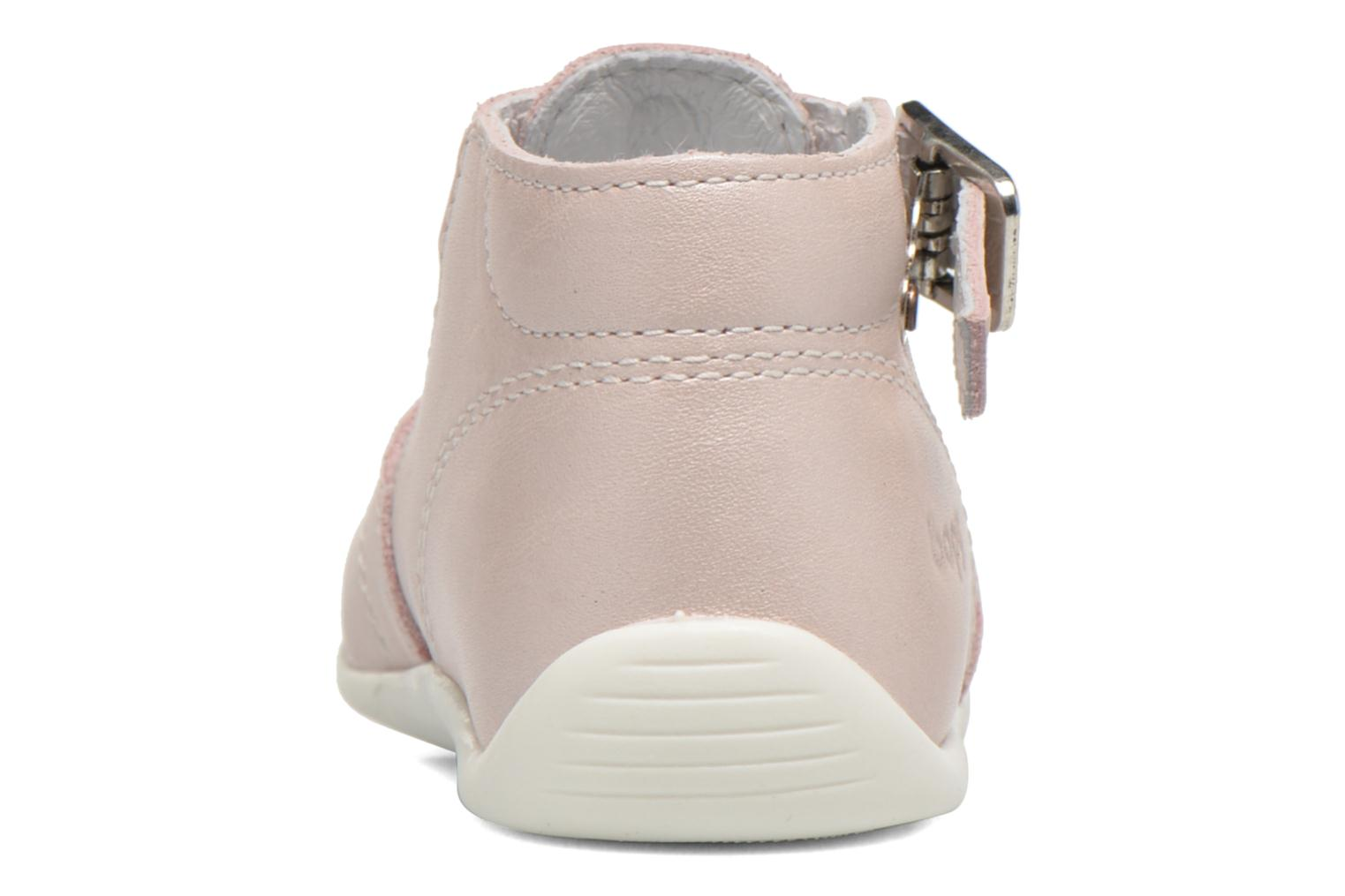 Summer boots Bopy Poumbo Pink view from the right