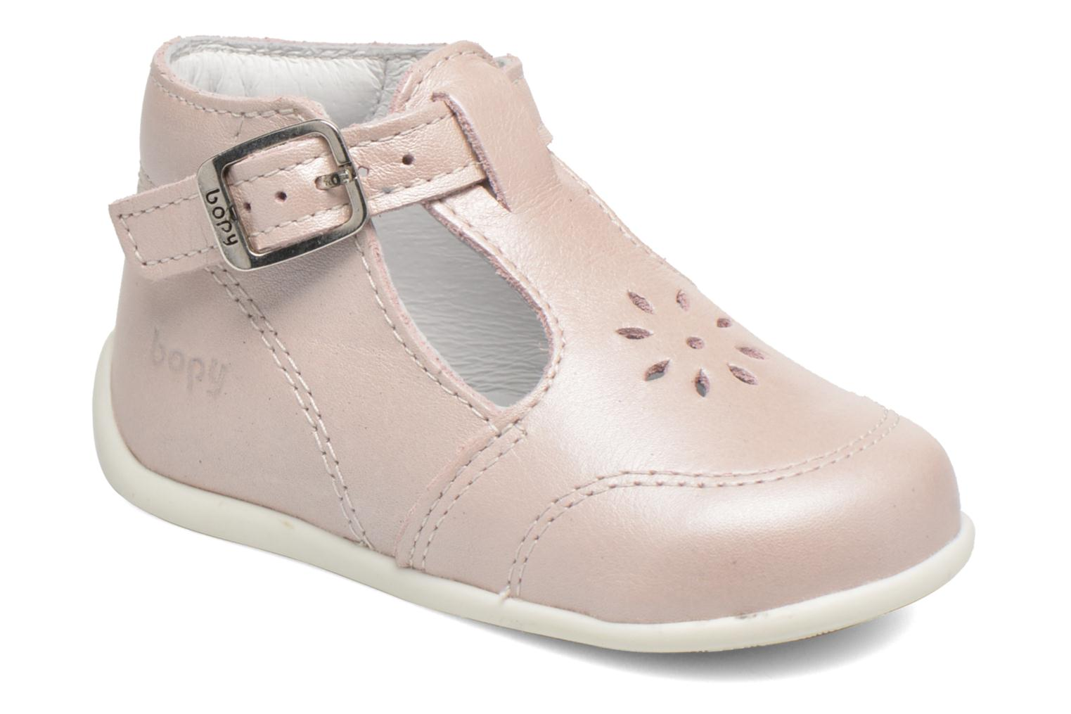 Summer boots Bopy Poumbo Pink detailed view/ Pair view