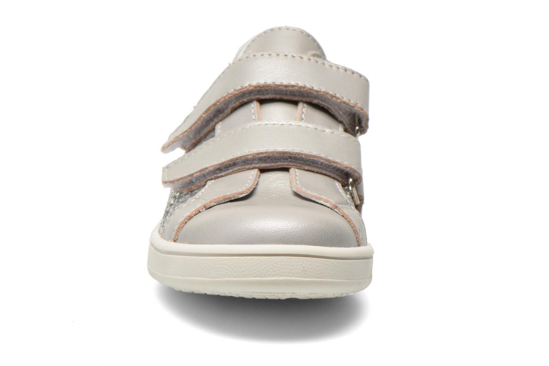 Baskets Bopy Siana Argent vue portées chaussures