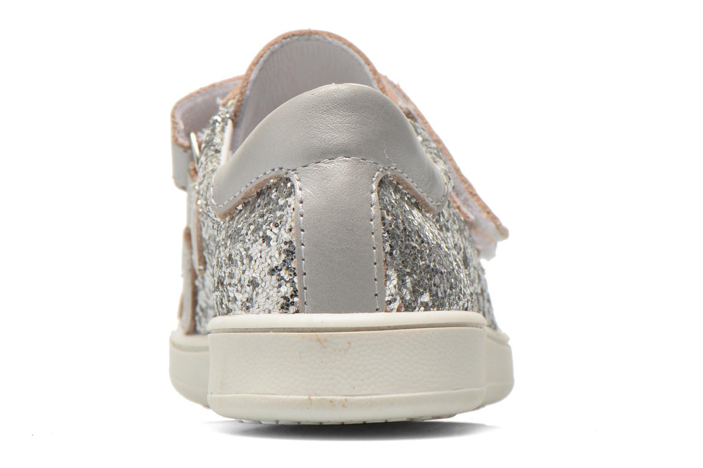 Sneaker Bopy Siana silber ansicht von rechts