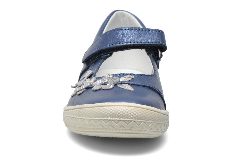 Sandales et nu-pieds Bopy Sidonie Bleu vue portées chaussures