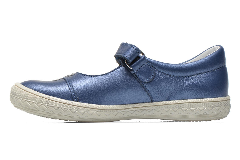 Sandales et nu-pieds Bopy Sidonie Bleu vue face