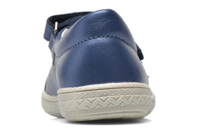 Sandales et nu-pieds Bopy Sidonie Bleu vue droite
