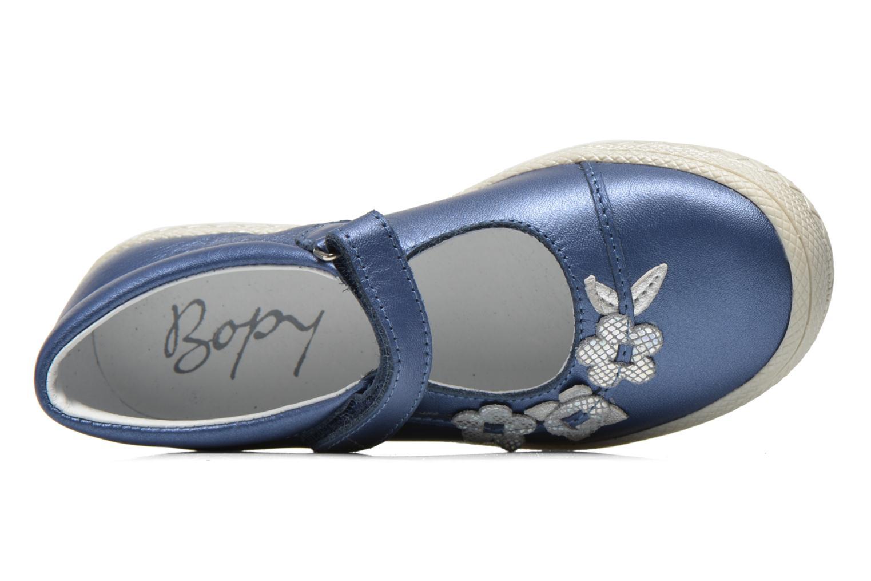 Sandales et nu-pieds Bopy Sidonie Bleu vue gauche