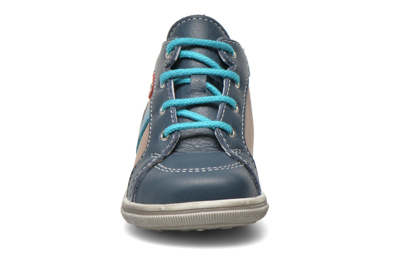 Bottines et boots Bopy Zacky Bleu vue portées chaussures