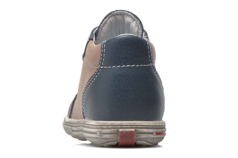 Bottines et boots Bopy Zacky Bleu vue droite
