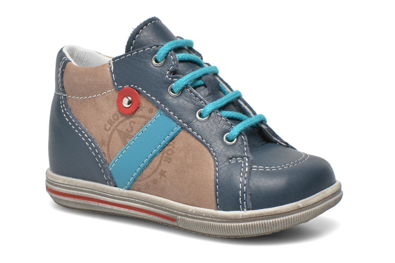 Bottines et boots Bopy Zacky Bleu vue détail/paire
