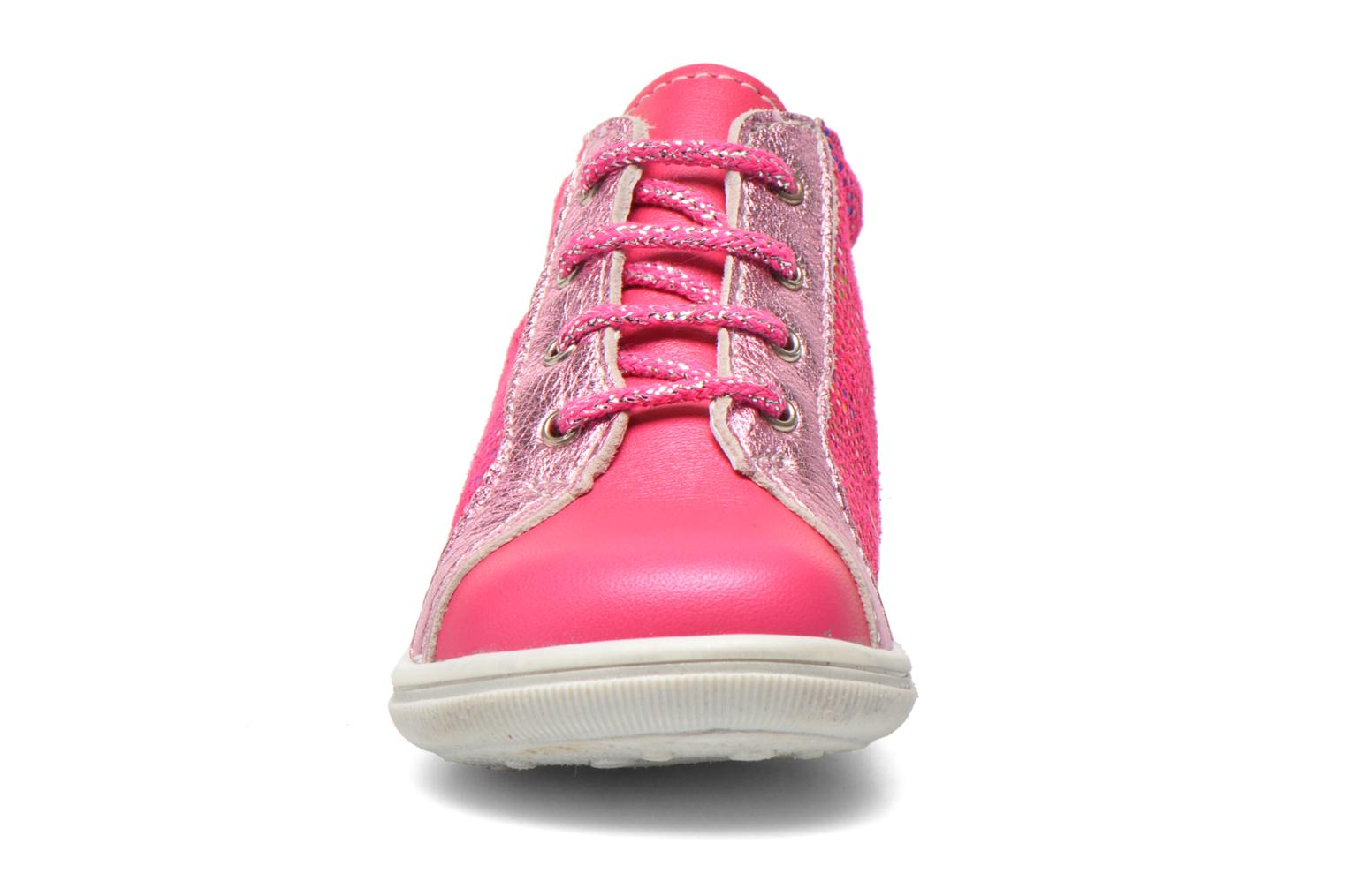 Ankle boots Bopy Zancho Pink model view
