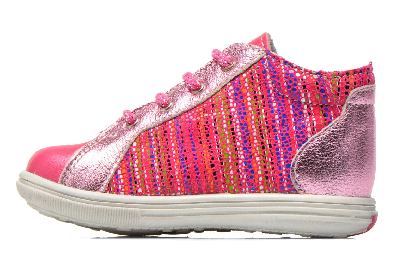 Ankelstøvler Bopy Zancho Pink se forfra