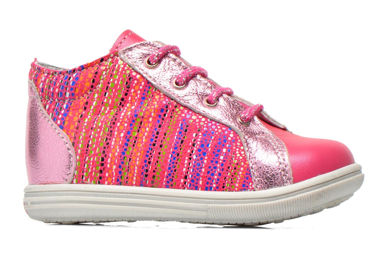Ankelstøvler Bopy Zancho Pink se bagfra