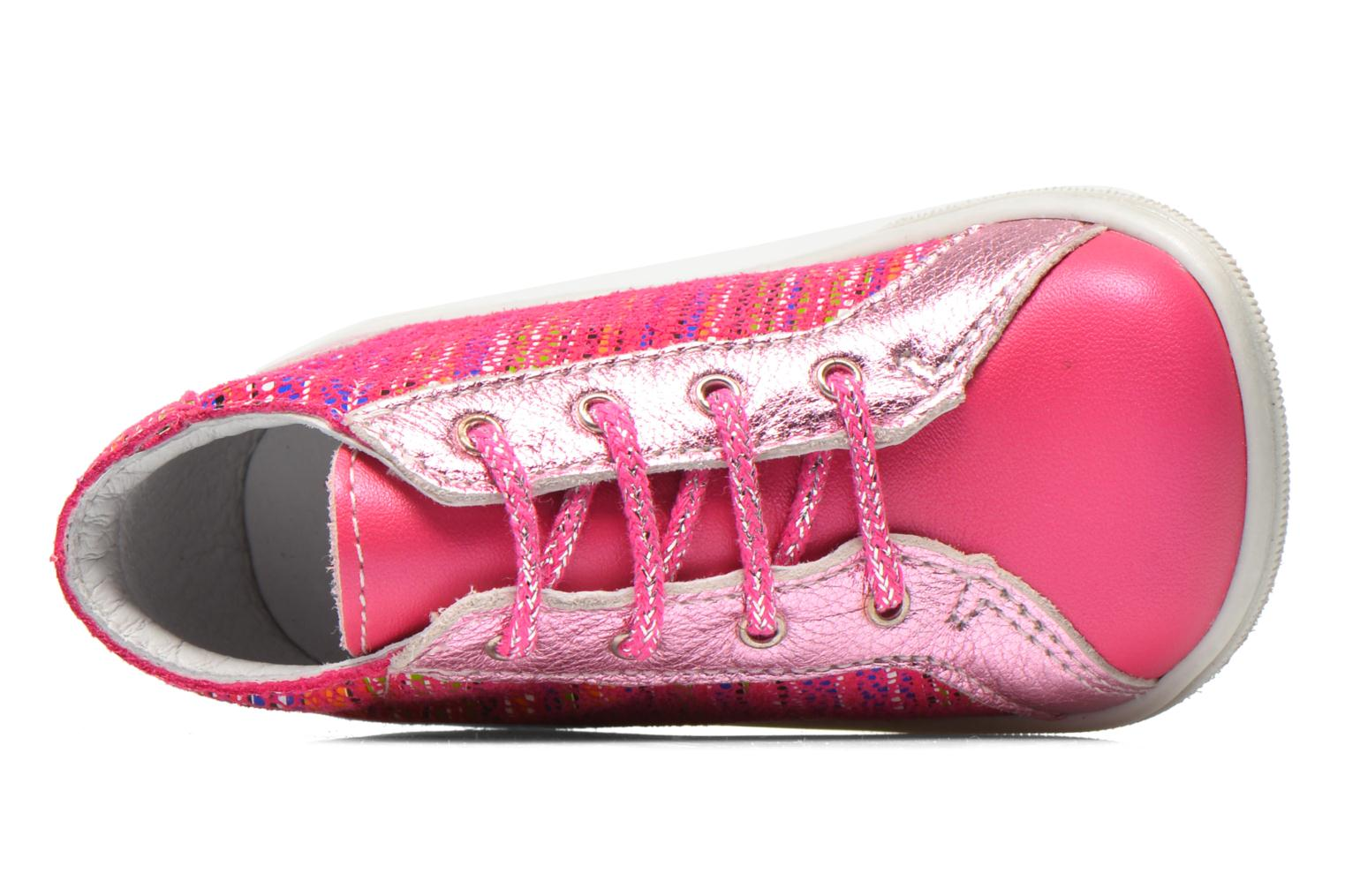 Ankle boots Bopy Zancho Pink view from the left