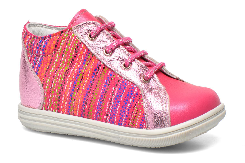 Ankelstøvler Bopy Zancho Pink detaljeret billede af skoene
