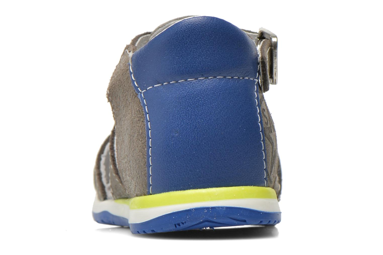 Sandals Bopy Zephiro Grey view from the right