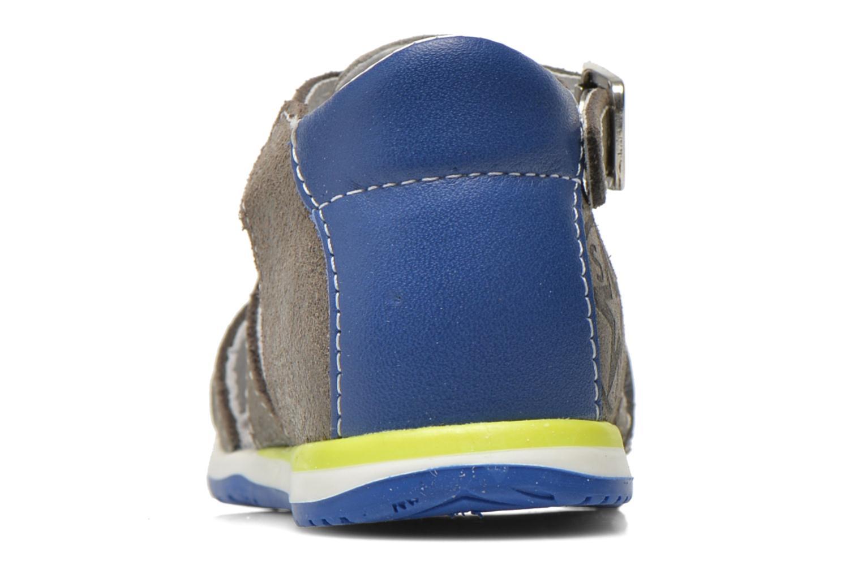 Sandales et nu-pieds Bopy Zephiro Gris vue droite