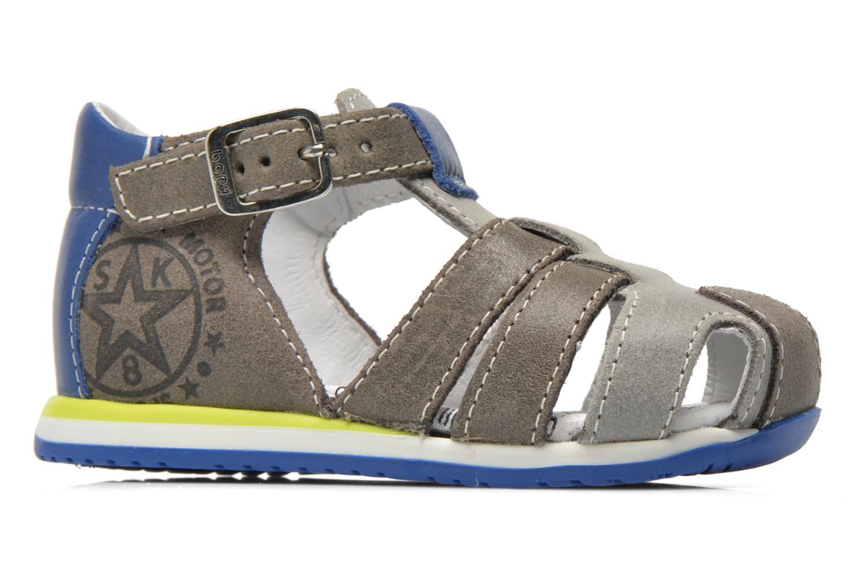 Sandales et nu-pieds Bopy Zephiro Gris vue derrière
